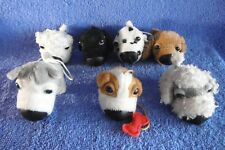 *1803ab*  ''THE DOG''-  Seven (7) dogs  - plush