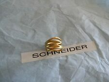 Premier Designs DOWN TO THE WIRE gold ring sz 5 RV $42 free 1st class ship new