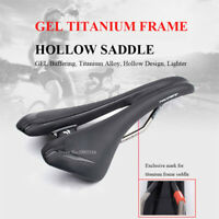 Bike Saddle Titanium MTB Mountain Road Cycling Cushion Breathable Bicycle Saddle