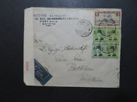 Egypt 1942 Registered Censor Cover to Palestine - Z10144