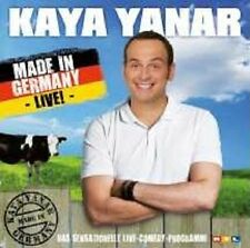 "KAYA YANAR ""MADE IN GERMANY LIVE"" CD NEUWARE"