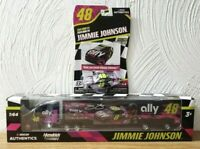 Nascar JIMMIE JOHNSON 2020 ALLY #48 Hauler and Camaro 1/64