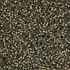 Toho Treasure Seed Beads Size 11/0 Gold Lined Aqua TT-01-6 7.8g (Q71/6)