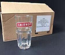 12x SMIRNOFF Vodka Glas Gläser NEU OVP Longdrink Cocktail 34cl Stapelglas