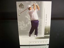Rare Craig Stadler Upper Deck SP Authentic 2001 Card #111 Golf