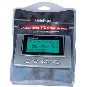 Radio Shack 43-3903 Back Lit Caller ID Call Waiting New in Package