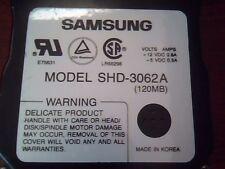 Hard Disk Drive Samsung SHD-3062A J1DC311158 REV DD 120MB