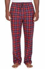Nautica Men's Big & Tall Plaids Pull-On Sleep Pants Red Multi Size 3XLT