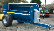 More details for muck manure spreader ms1000   £6750 + vat  * in stock* tractor towed