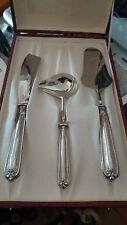 Set Posate Argento 800 (punzonate) Cutlery Set Silver - 3 posate con custodia