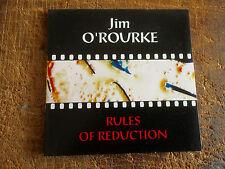 JIM O'ROURKE - RULES OF REDUCTION - METAMKINE,AVANT GARDE!!!!!