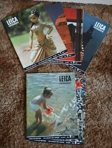 Leica Fotografie Full Year 1967 1 - 6 English Editions Archive Film Photography
