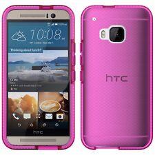 Genuine tech21 Evo Check Case For HTC One M9 - Pink / White