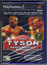 PS2 Mike Tyson Heavyweight Boxing (2002) UK Pal, Brand New & Sony Factory Sealed