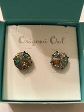 Origami Owl Patina Stud Earrings