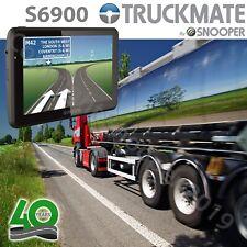 "Snooper S6900 Truckmate GPS Truck HGV & Car Sat Nav 7"" w/ Active Magnetic Mount"