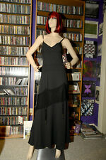Heavy Red Retired Gothic Long Dress style 1033 SZ- L