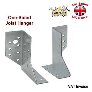 One Sided JOIST HANGER Left or Right Steel 25 x 105 x 75 x 2.0 mm
