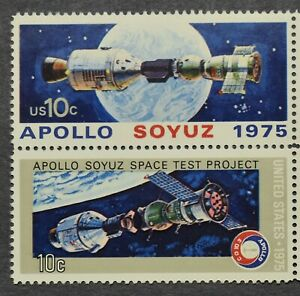 *U.S. #1569-1570 Apollo Space Stamps, Pair of 2 - MNH/OG - 1975*