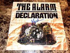 The Alarm Rare Signed Vinyl LP Record Album Mike Peters Declaration 1984 + COA