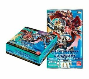 Digimon Card Game 2021 CCG Special Booster Box V 1.5 English Pre-Order Sealed