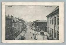 Tarnow Poland~Rare Antique Polish Postcard~Ulica Krakowska AK 1914
