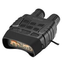 "2.3"" 4X Zoom IR Night Vision Binoculars FOV 10° Fliter Cover for Bird Watching"