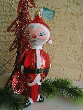 Italian Mouth Blown Hand Painted Santa Claus Nib