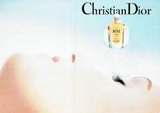 Publicité Advertising 117  1993   Christian Dior parfum Dune  (2 pages)