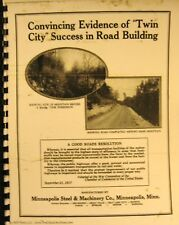1918 Twin City 60-40-25-16 The Road Building Record Sales info. Manual Fsh