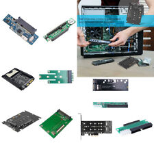 Different kinds Converter Adapter Card 2 in 1 2.5 3.5 SATA to SATA 22/44 Pin