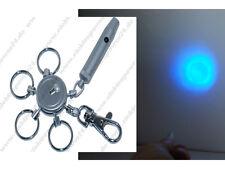 Led Mini Schlüsselanhänger 7617 blau Licht/Geschenk/Taschenlampe NEU