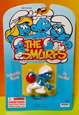 NEW Sealed 1995 PEYS SCHIEICH Irwin THE SMURFS FIGURE Sporty Bowling Smurf