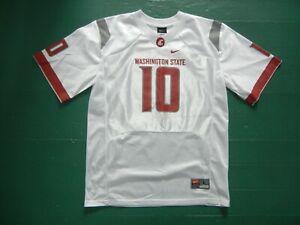 Nike WASHINGTON STATE WSU COUGARS Team COLLEGE FOOTBALL JERSEY Shirt Kid YOUTH L