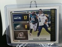 2020 DONRUSS Football Road to the Super Bowl Russell Wilson Seattle Seahawks