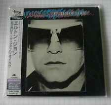 Elton John-Victim Of Love GIAPPONE SHM MINI LP CD OBI NUOVO! UICY - 94409