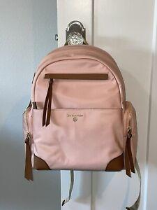 New Michael Kors Prescott Nylon Laptop Backpack Light Pink 30S0G1RB7C  NWT