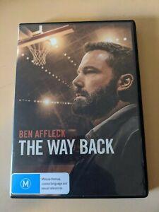 The Way Back - Genuine Region 4 DVD Ben Affleck Basketball Movie