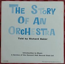 """The Story Of An Orchestra Told By Richard Baker 7"""" 33rpm LP + Book – M 75/IME"""