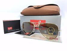 Ray Ban Aviator RB3025 001/51 Gold Frame Brown Gradient Lens 58mm