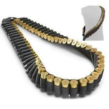 Shotgun Bandoleer Rifle Sling Holds 56 Shells for 12 or 20 Gauge 56 Rounds 2x