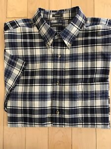 MENSST JOHNS BAY  SHORT SLEEVE BUTTON UP PLAID SHIRT MULTIPLE COLORS NEW W// TAG
