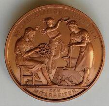 Vienna World Exhibition Medal 1873 FRANZ JOSEPH , Austria , by K. Schwenzer
