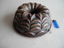 alte Backform Kuchenform Gugelhupf Biedermeier (2)