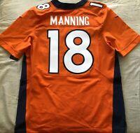 Peyton Manning Denver Broncos 2012 authentic Nike orange game model jersey NWT
