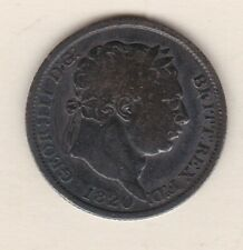 More details for 1820 george iii silver shilling in a used fair condition.