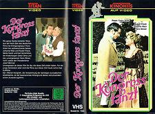 (VHS) Der Kongress tanzt - Johanna Matz, Rudolf Prack, Hans Moser, Oskar Sima