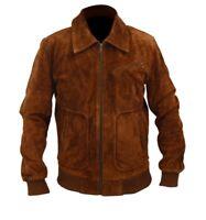 Armie Hammer The Man from U.N.C.L.E. Illya Kuryakin Genuine Suede Leather Jacket