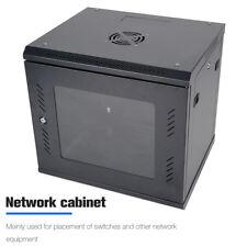 "Netzwerkschrank 19"" Wandgehäuse 9HE Serverschrank Switch Wandverteiler Kompakt Z"