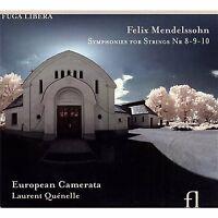 Laurent Quenelle European Camerata - Felix Mendelssohn: Symphonies [CD]